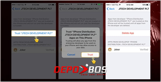 step download ios 918kiss ketiga